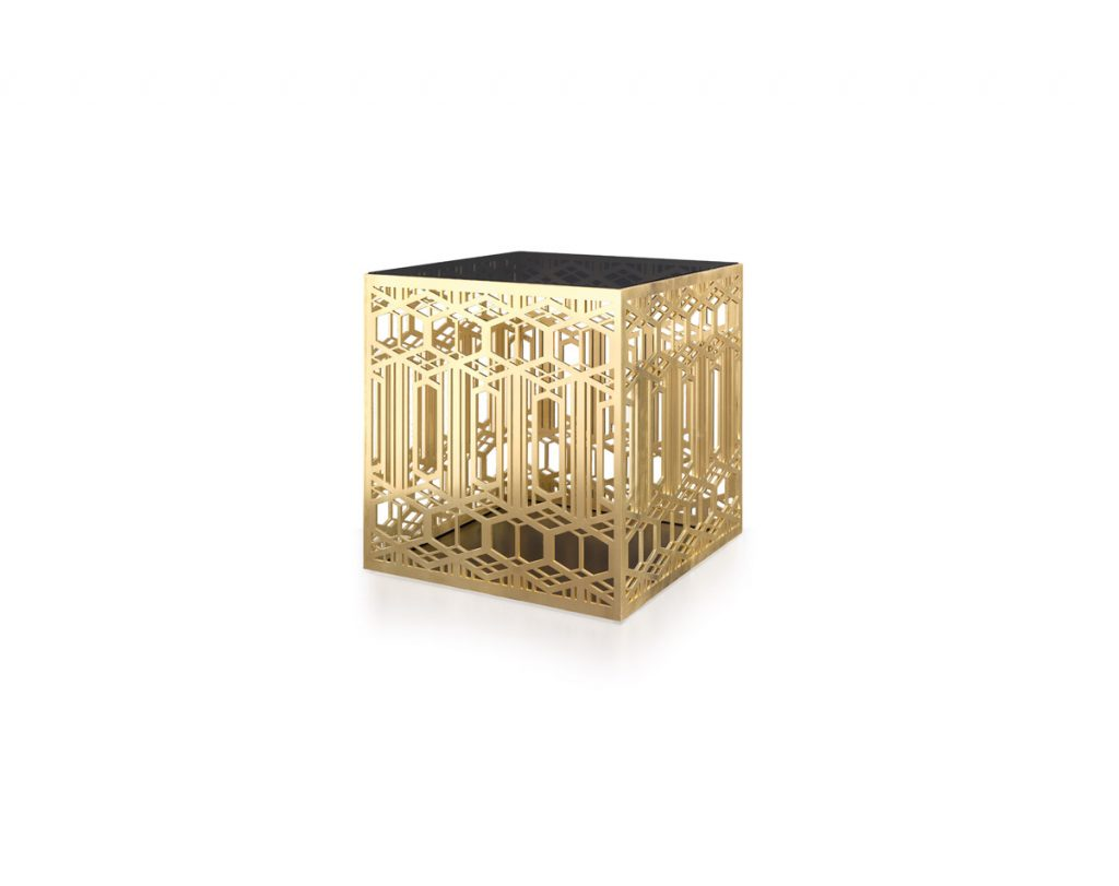 Kilima Cube Side Table